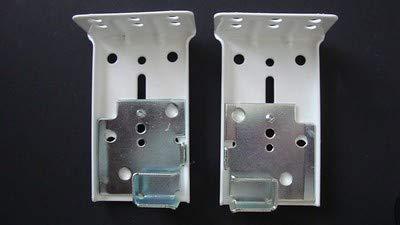 Kirsch Single Rod Drop-In Brackets from, for Superfine Traversing Rod ()