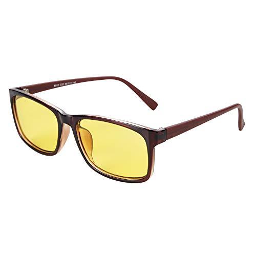 745c738849 Night Driving Glasses Anti-glare Eyewear Square Polarized HD night vision  Sunglasses For Women Men Stylish