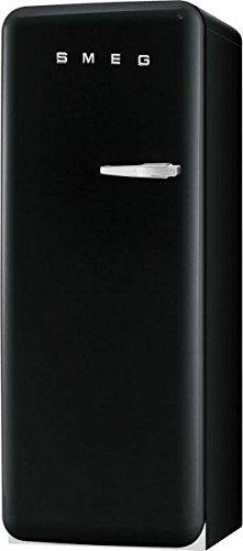 Smeg cvb20lne1 Freestanding Vertical 170L to + Black –  Freezer (Vertical, 170 L, 20 kg/24h, sn-st, A +, Black) 170L 20kg/24h