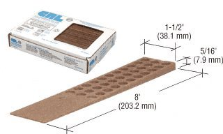 CRL Wood Composite Shims - 1 Carton (32 shims) by CR Laurence