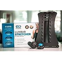Back Stretcher - Back Pain Relief - Sciatica Pain Relief - Adjustable Lumbar Stretcher...