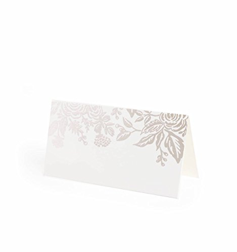 Rifle Paper Co Place Cards Set of 8 (Pearl Jardin) by Plus Rifle Paper Co.