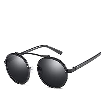 Horrenz Retro Steampunk - Gafas de Sol para Mujer, diseño ...