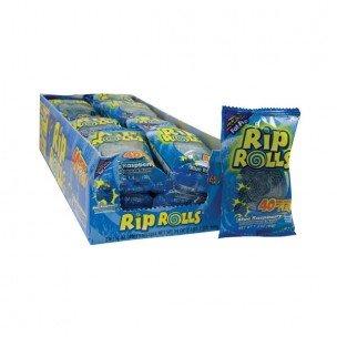 RIP ROLLS BLUE RASPBERRY 1.4 oz Each ( 24 in a Pack ) ()