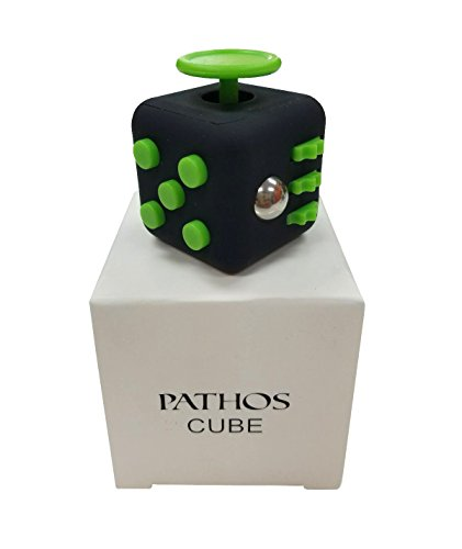 Pathos - Fidget Cube - Relieves Anxiety For Children And Adults - Stress Reliever