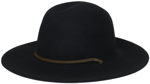 Brixton Men's Tiller Hat, Black, Medium (Bowler Hat)