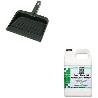 KITFKLF538022RCP2005CHA - Value Kit - Franklin Super Carpet amp;amp; Upholstery Shampoo (FKLF538022) and Rubbermaid-Chrome Heavy Duty Dust Pan (RCP2005CHA)