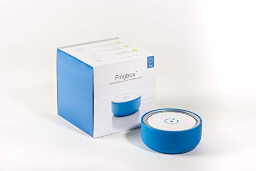 Fingbox Home Network Monitoring & Security, Wi-Fi & Bandwidth Management Sensor - See All Family Members and Control Activity Time with Parental Controls - Stop Intruders & Hackers! (Monitoring Home Network)