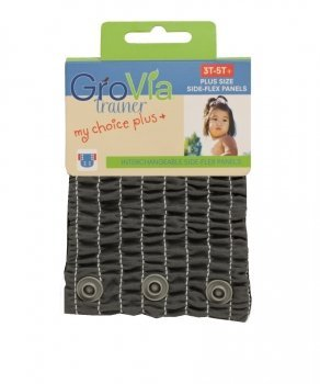 Grovia My Choice Side-Flex Panels Plus for My Choice Trainer (3T-5T Plus, Cloud)