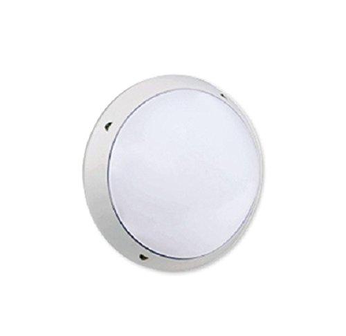 Resistex 838226 – HUBLOT polyfeo 380 2 x 26 W G24Q-3 IP65 – Ø = 380 mm H = 120 mm – Bianco