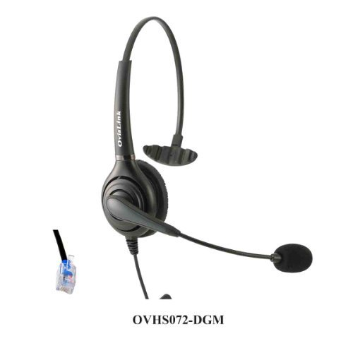 Ovislink Call Center Headset Compatible with Digium IP Ph...