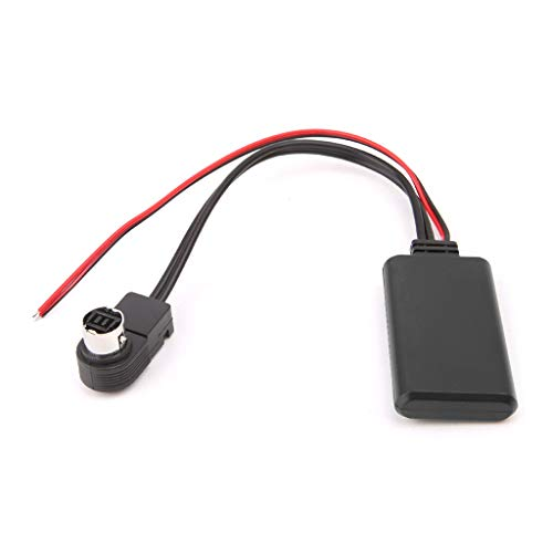 EAPTS Bluetooth Aux Adapter Cable for Alpine 121B 9857 9886 117 Smartphone to Car Stereo to Stream