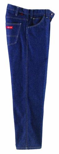Dickies FR Flame Resistant 14 oz Indura 5-Pocket Relaxed-Fit Jean Pant, 35 Waist Size, 36 Inseam, Denim (Dickies Carpenter Pants 14oz)