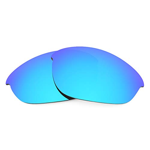 - Revant Polarized Replacement Lenses for Oakley Half Jacket Elite Ice Blue MirrorShield