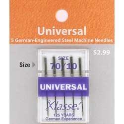 Klasse' Universal Needles Size 70/10