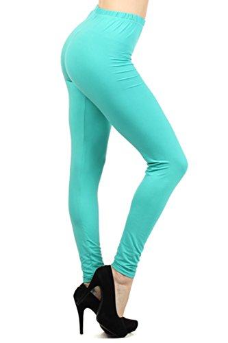 Leggings-Mania-RegularPlus-Ultra-Soft-High-Waisted-Full-Length-Best-Selling-Leggings-Many-Solid-Colors