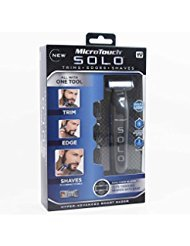 New! As Seen On TV MicroTouch SOLO Hyper-Advanced Smart Razor - Micro Touch Shaver and Trimmer