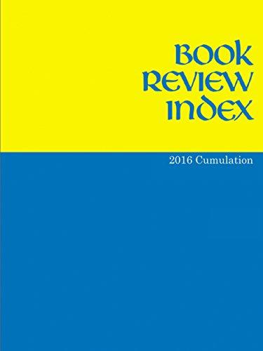 Book Review Index: 2016 Cumulation