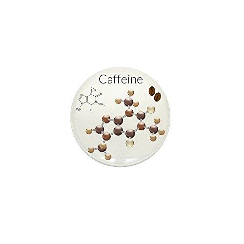 Mini Button Caffeine Lover 3D Atomic (Mini Pizza D'halloween)