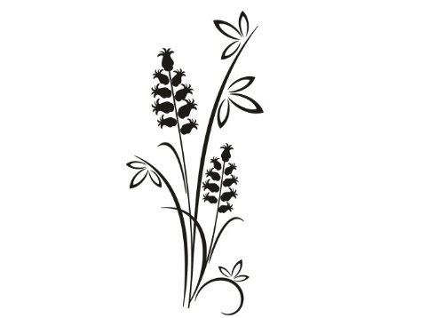 Wandtattooladen Wandtattoo - Japanische Gräser Größe 59x135cm Farbe    weiß B013R7UM5K | Feinen Qualität  fdbe6d