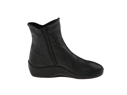 Arcopedico Women's L19 Ankle Comfort Vegan Boot (36 (5.5-6 (B) US), Black) by Arcopedico (Image #2)
