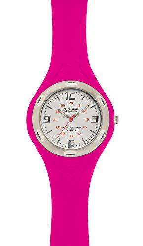 (Prestige Medical 1888 Sportmate Scrub Watch, Neon Pink)