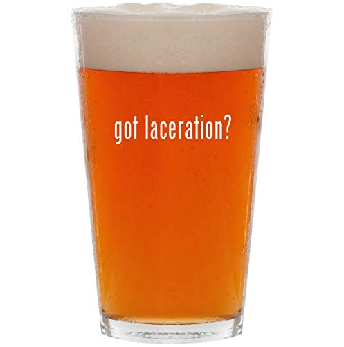 Probaby Boots Lacer - got laceration? - 16oz Pint Beer Glass