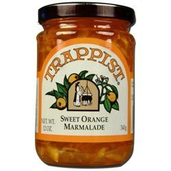 Trappist Sweet Orange Marmalade Jelly - All Natural 12 oz.