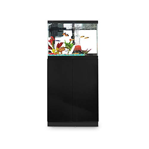 Imagitarium Black Gloss Fish Tank Stand, Up to 20 Gal, 12.5 ()
