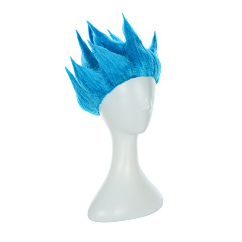Super Saiyan Goku Costume (SSJ Dragon Ball Movie Super Saiyan Son Goku Cosplay Wig (Blue1))