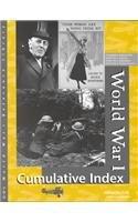 World War I Reference Library: Cumulative Index pdf
