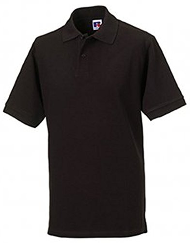 Jerzees Pique Polo Shirt 3XL Black