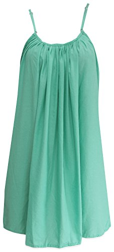 Tank Swimsuit Womens Knee Length Swimwear Cover up Sundress Bathing Suit Green Valentines Day Gifts 2017