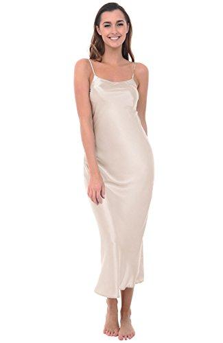Cream Slip Dress - 3