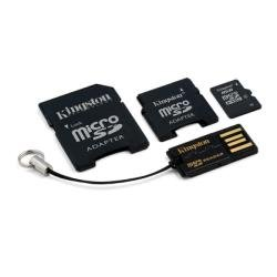 Kingston Mobility Kit - 8 GB microSDHC Flash Memory Card wit