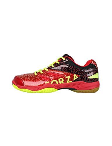 FZ Forza Indoor Schuh Court Flyer - rot, für Damen und Herren - geeignet für Squash, Badminton, Tennis etc.