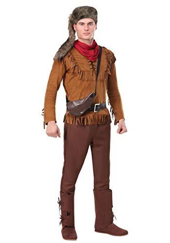 Davy Crockett Costumes (Men's Davy Crockett Costume X-Large)