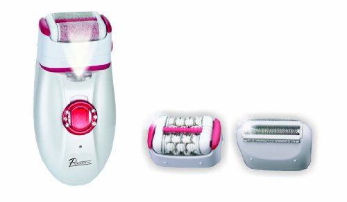 Pursonic Callus Remover, Epilator and Shaver