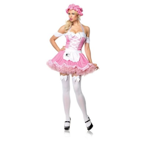 [Classic Miss Muffet Adult Costume Size Large] (Miss Muffet Costumes)
