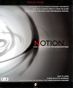 Virtuoso Works B000emxhwm Notion - Notation Composition Software