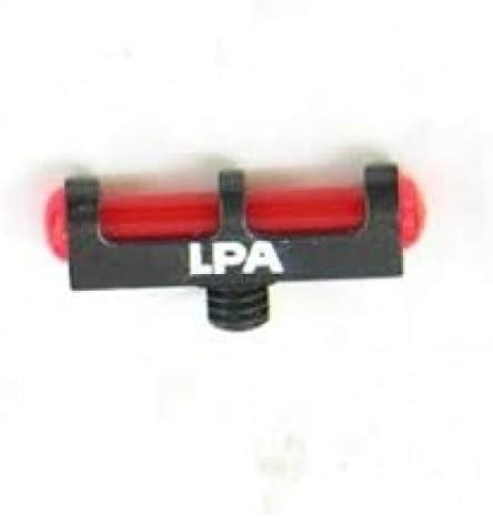 Punto de mira LPA con Base metálica y Rosca de 3mm Fibra optica roja.