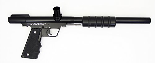 Tournament Old School CCI Phantom Direct Feed Pump Paintball Gun Black with .45 Grip Frame