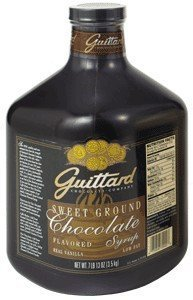 Guittard Sweet Ground Chocolate Sauce, 95 oz. by Guittard