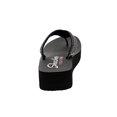 Skechers 31600 Beach League Damen Black mit Yoga Foam