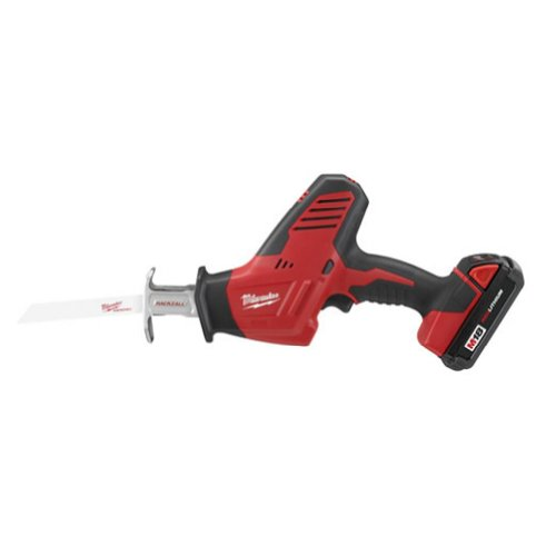 Milwaukee 2625-21CT M18 18-Volt Hackzall Cordless One-Handed Reciprocating Saw Kit For Sale