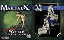 Wyrd Miniatures Malifaux Arcanists Willie Model Kit [parallel import goods]