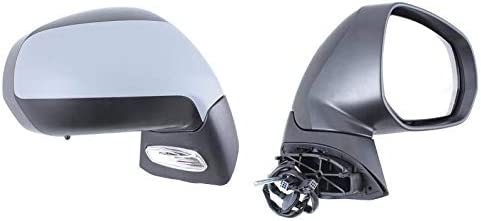Right Driver Side Wing Mirror Aftermarket 388-PGD163TPSL-7997 electric, heated, temp. sensor