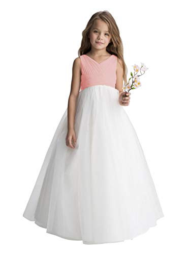 bfff631fb7b Gdoker Tulle Flower Girl Dress