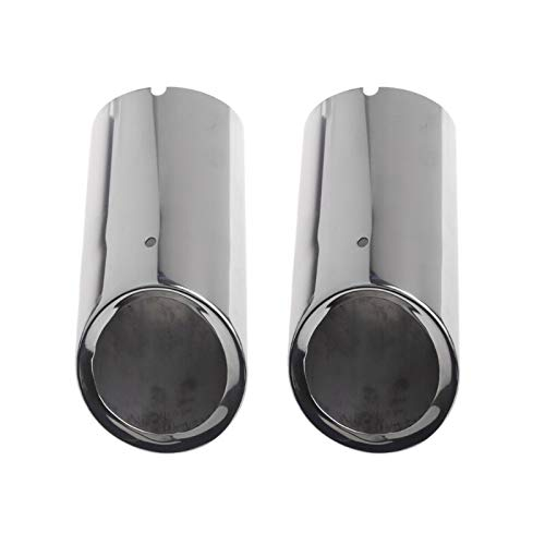 (Value.Trade.Inc - 2xStainless Steel Replacement Anti-Corrosive Exhaust Muffler Pipe For VW Volkswagen Jetta MK6 Golf 6 Golf 7)