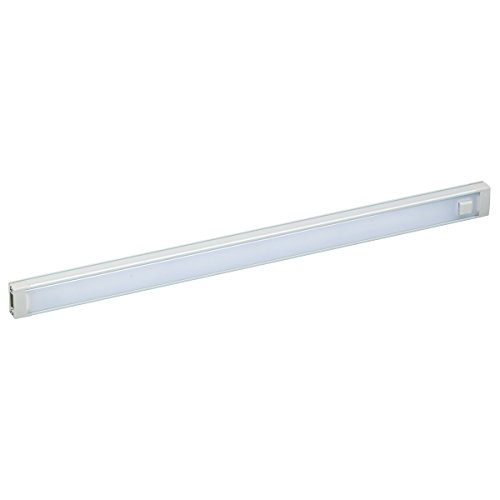 BLACK+DECKER LED Under Cabinet Lighting | Dimmable Under Counter Office Lighting with Motion Sensor and Magnetic Option| No Tools Required for Installation | 430W, 6.4 Lumens, Natural Daylight 5000K, 1-Bar (LEDUC12-1D)